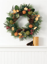 Load image into Gallery viewer, Fruit and Berry Wreath - the-southern-magnolia-too