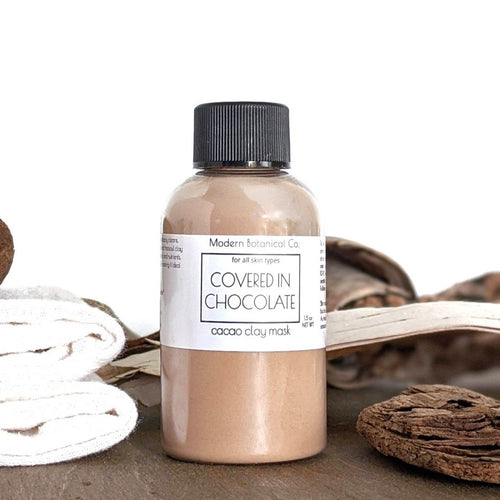 Covered In Chocolate Clay Mask Blend; For All Skin Types