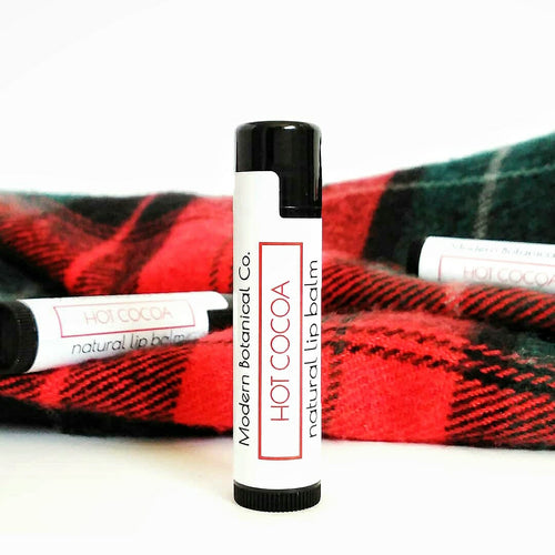 Hot Cocoa Natural Lip Balm (*SEASONAL*)