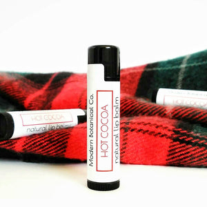 FINAL SALE Hot Cocoa Natural Lip Balm (*SEASONAL*)