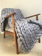 Chunky knit blanket/throw made to order