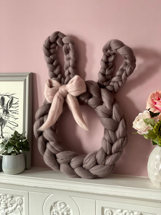 Woolly Rabbit Wall Decor