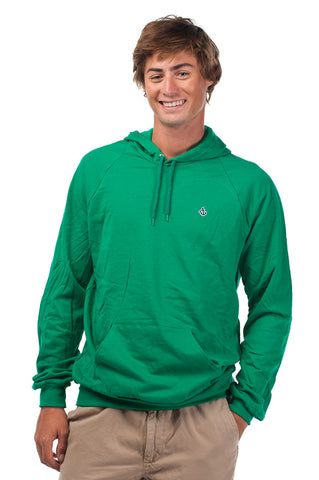 Kelly Green Signature Embroidered Fleece Hoodie - Unisex