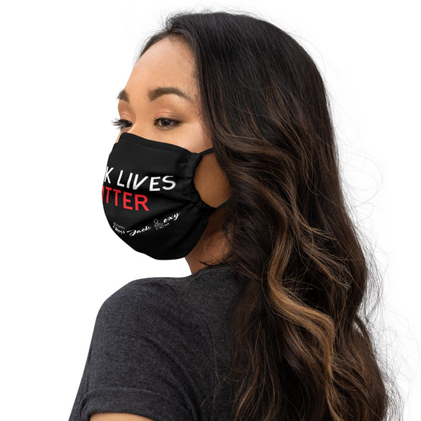 Black Lives Matter Premium Face mask  i am New Jack Sexy