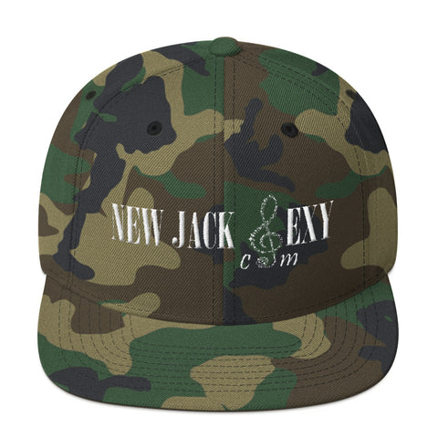 New Jack Sexy  Mens Snapback Hat (Camouflage) - I Am New Jack Sexy