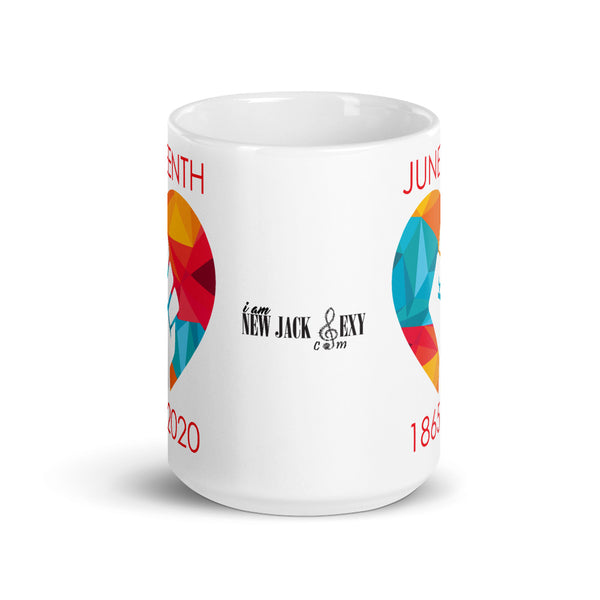 Juneteenth Heart Fit Mug Cup **Limited Edition**