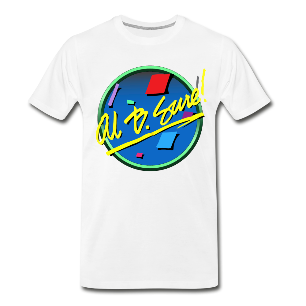 Al B. Sure! Men's Premium T-Shirt - white
