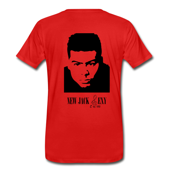 Al B. Sure! Men's Premium T-Shirt - red
