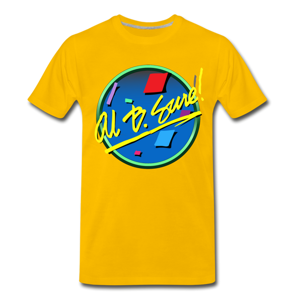 Al B. Sure! Men's Premium T-Shirt - sun yellow