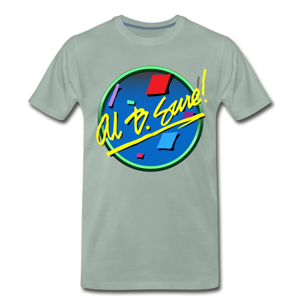 Al B. Sure! Men's Premium T-Shirt - steel green