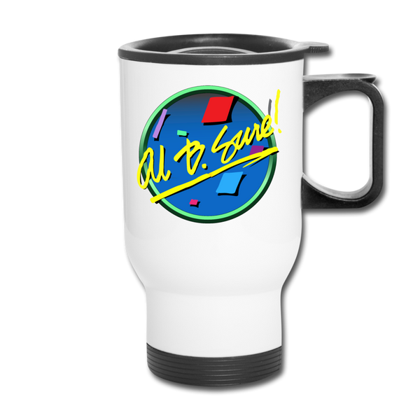 Al B. Sure! Travel Mug Cup - white