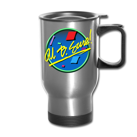 Al B. Sure! Travel Mug Cup - silver