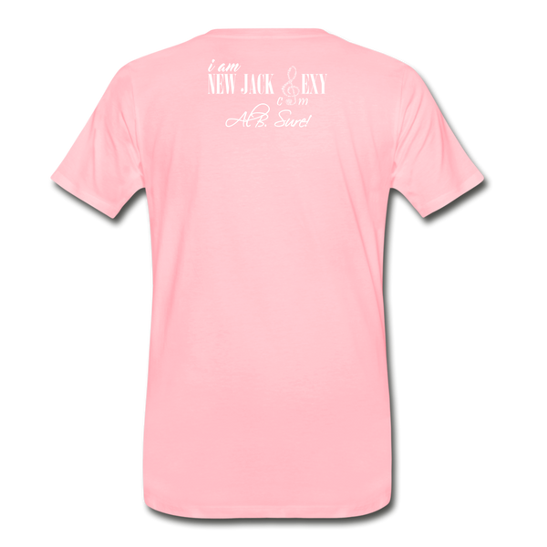 Juneteenth Fist  Heart Premium T-Shirt **LIMITED** - pink