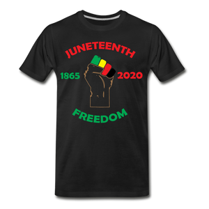 Juneteenth  1865-2020 Premium T-Shirt **LIMITED** - black