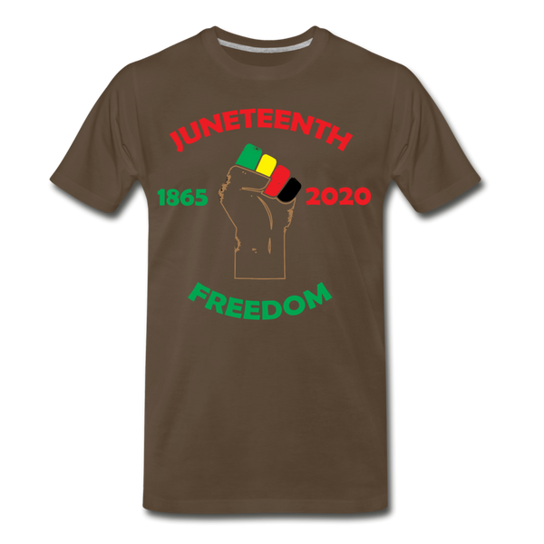 Juneteenth  1865-2020 Premium T-Shirt **LIMITED** - noble brown
