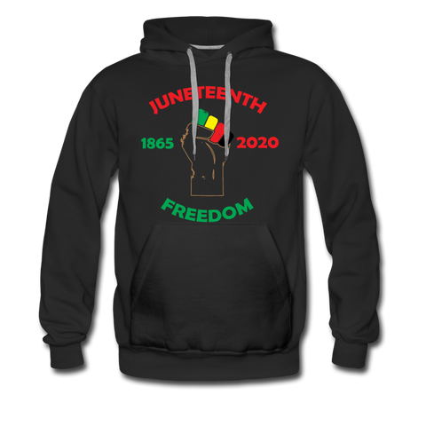 Juneteenth Freedom Premium Hoodie **LIMITED** - black