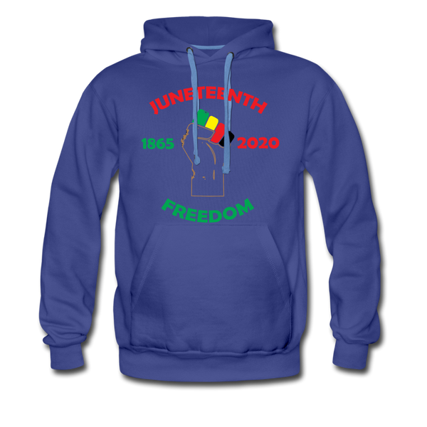 Juneteenth Freedom Premium Hoodie **LIMITED** - royalblue