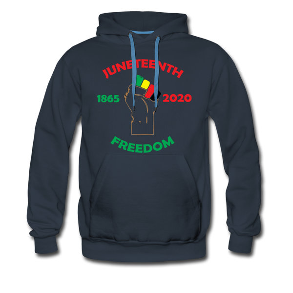 Juneteenth Freedom Premium Hoodie **LIMITED** - navy