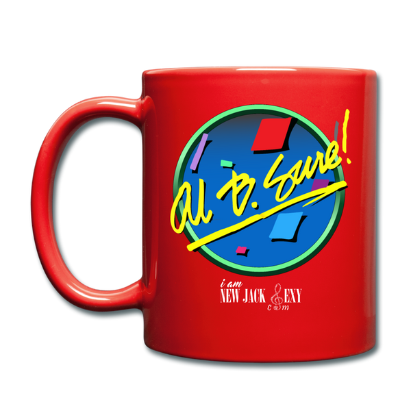 Al B. Sure! i am New Jack Sexy Coffee Mug Cup - red