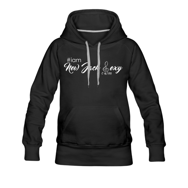 i am New Jack Sexy Women's Premium Hoodie - black