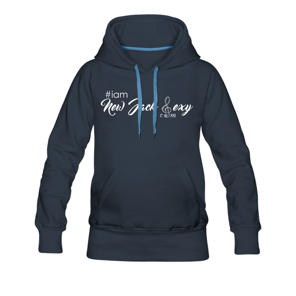 i am New Jack Sexy Women's Premium Hoodie - navy