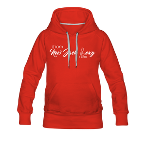 i am New Jack Sexy Women's Premium Hoodie - red