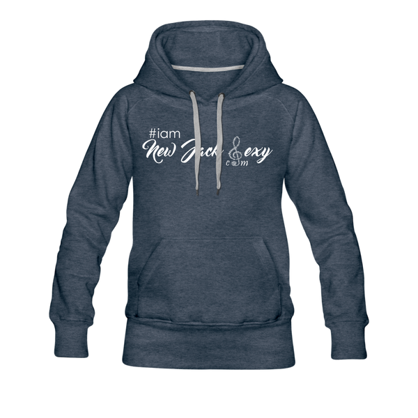 i am New Jack Sexy Women's Premium Hoodie - heather denim