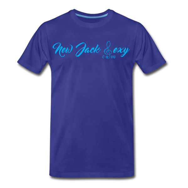 New Jack Sexy Unisex Premium T-Shirt (Blue Letters) - royal blue