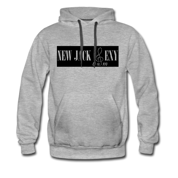 New Jack Sexy Unisex Premium Hoodie Metal - heather gray