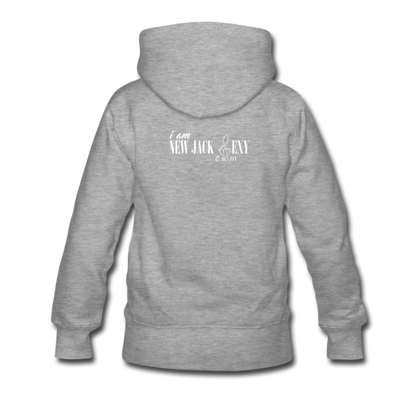 Al B. Sure! Logo Women's Premium Hoodie - heather gray