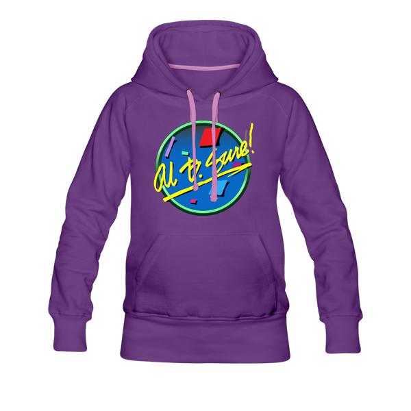 Al B. Sure! Logo Women's Premium Hoodie - purple