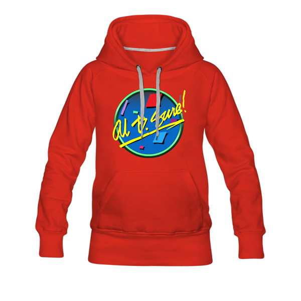 Al B. Sure! Logo Women's Premium Hoodie - red