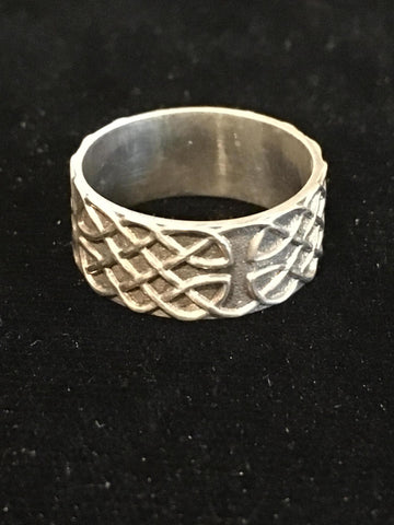 Ring Celtic Knotwork SS