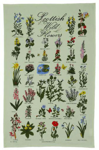Tea Towel - Wildflowers