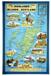Tea Towel - Highlands and Islands