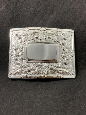 Buckle Piper Square Ctr Chrome