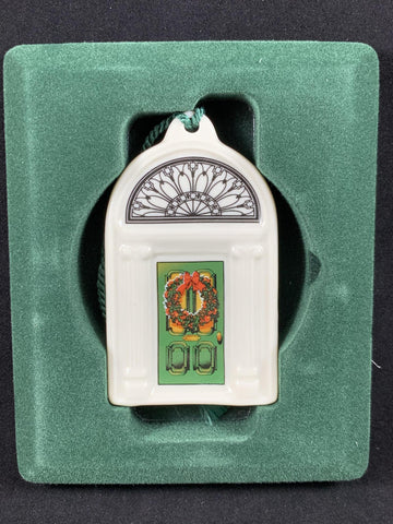 Christmas Ornament - Ceramic Dublin Doors