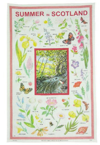 Tea Towel - Summer