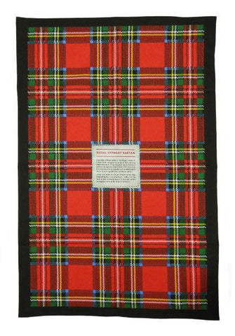 Tea Towel - Royal Stewart