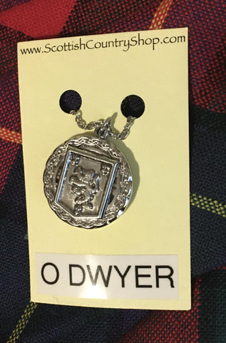 Pendant O'Dwyer Irish Crest w/ Chain