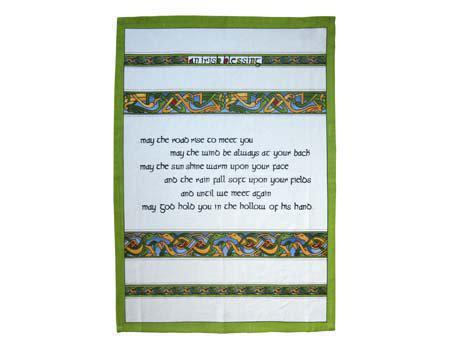 Tea Towel - Irish Blessing
