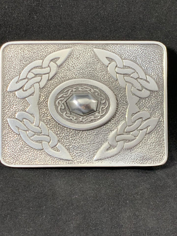 Bulldog Buckle Oval