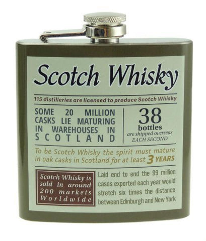 Hip Flask - Scotch Whisky 6oz