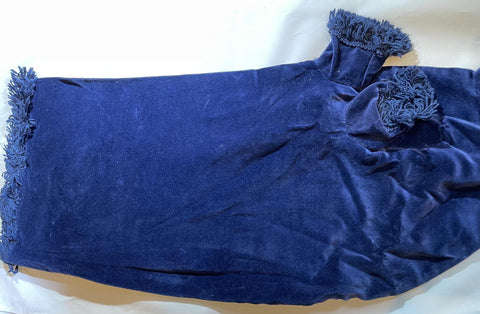 Bagpipe Bag Cover Velvet Blue