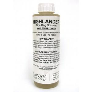 Gannaway Highlander Pipe Bag Dressing