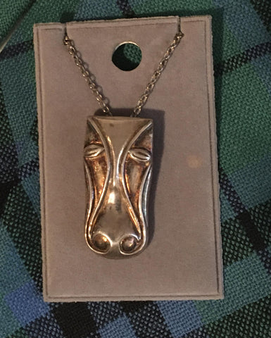 Pendant Horse head w/ Chain