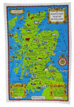 Tea Towel - Souvenir Map