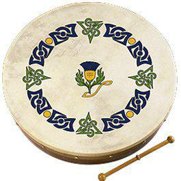 "Bodhran Waltons 12"" Scottish Thistle"
