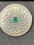 "Brooch - 2"" Celtic Interlace"