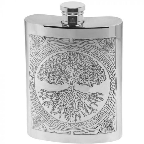 Flask 6oz Tree of Life